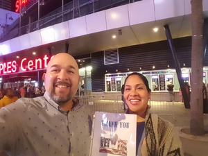 Pedro attended Kelly Clarkson: Meaning of Life Tour on Jan 26th 2019 via VetTix