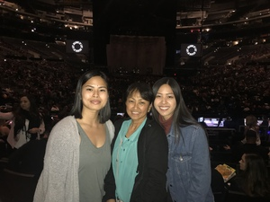 Catalino attended Kelly Clarkson: Meaning of Life Tour on Jan 26th 2019 via VetTix
