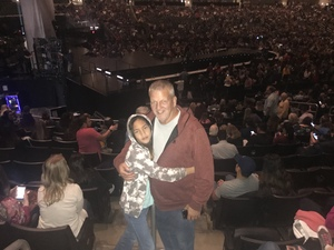 Jeffrey attended Kelly Clarkson: Meaning of Life Tour on Jan 26th 2019 via VetTix