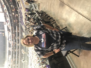 Tiffani attended Kelly Clarkson: Meaning of Life Tour on Jan 26th 2019 via VetTix