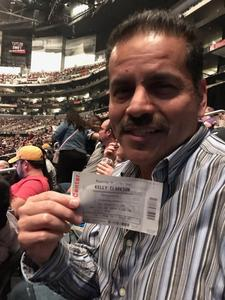Robert attended Kelly Clarkson: Meaning of Life Tour on Jan 26th 2019 via VetTix