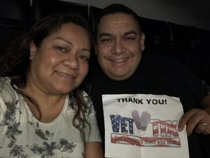 Juan attended Kelly Clarkson: Meaning of Life Tour on Jan 26th 2019 via VetTix