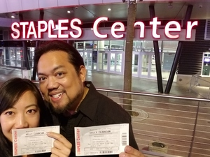 Joseph attended Kelly Clarkson: Meaning of Life Tour on Jan 26th 2019 via VetTix