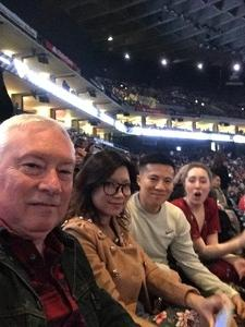 John attended Kelly Clarkson - the Meaning of Life Tour With Kelsea Ballerini and Brynn Cartelli on Jan 24th 2019 via VetTix