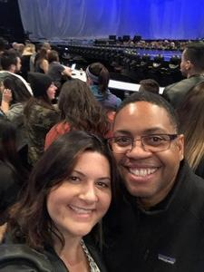 Brandon attended Kelly Clarkson - the Meaning of Life Tour With Kelsea Ballerini and Brynn Cartelli on Jan 24th 2019 via VetTix