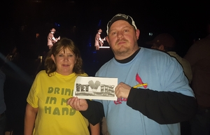 Frederick attended Eric Church - Double Down Tour on Jan 26th 2019 via VetTix