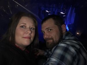 Allison attended Eric Church - Double Down Tour on Jan 26th 2019 via VetTix