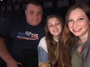 marty attended Eric Church - Double Down Tour on Jan 26th 2019 via VetTix