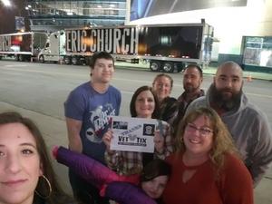 Darlene attended Eric Church - Double Down Tour on Jan 26th 2019 via VetTix