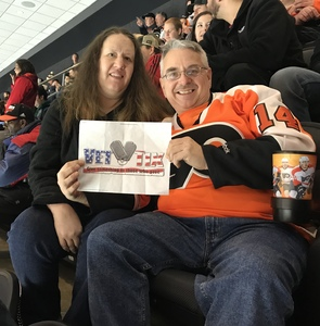 Donald Aldrich attended Philadelphia Flyers vs. Winnipeg Jets - NHL on Jan 28th 2019 via VetTix