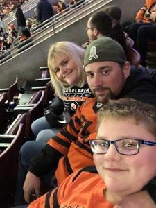 Bird28 attended Philadelphia Flyers vs. Winnipeg Jets - NHL on Jan 28th 2019 via VetTix