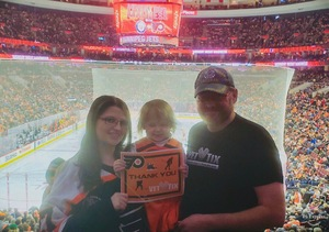 Click To Read More Feedback from Philadelphia Flyers vs. Winnipeg Jets - NHL