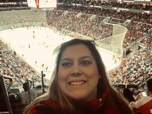 Anna attended Philadelphia Flyers vs. Winnipeg Jets - NHL on Jan 28th 2019 via VetTix