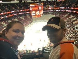 Brandy attended Philadelphia Flyers vs. Winnipeg Jets - NHL on Jan 28th 2019 via VetTix