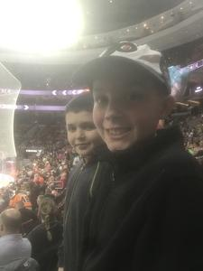 Cody attended Philadelphia Flyers vs. Winnipeg Jets - NHL on Jan 28th 2019 via VetTix