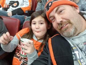 James attended Philadelphia Flyers vs. Winnipeg Jets - NHL on Jan 28th 2019 via VetTix