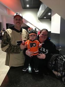 Justin attended Philadelphia Flyers vs. Winnipeg Jets - NHL on Jan 28th 2019 via VetTix