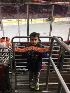 Jason attended Philadelphia Flyers vs. Winnipeg Jets - NHL on Jan 28th 2019 via VetTix