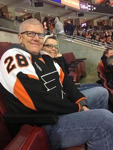 Kenneth attended Philadelphia Flyers vs. Winnipeg Jets - NHL on Jan 28th 2019 via VetTix