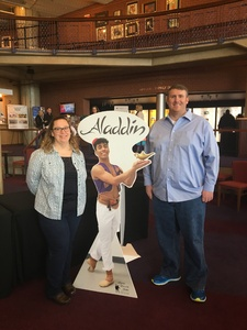 michael attended Virginia National Ballet Presents Aladdin - Saturday Matinee on Feb 16th 2019 via VetTix