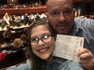 Joseph attended A Space Odyssey - Presented by the Philadelphia Orchestra on Feb 14th 2019 via VetTix