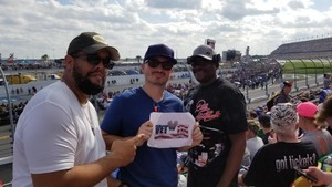 Arsenio attended 61st Annual Monster Energy NASCAR Cup Series Daytona 500 With Fanzone Access! - * See Notes on Feb 17th 2019 via VetTix