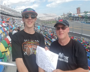 David attended 61st Annual Monster Energy NASCAR Cup Series Daytona 500 With Fanzone Access! - * See Notes on Feb 17th 2019 via VetTix