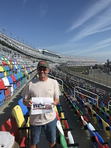 Kerry attended 61st Annual Monster Energy NASCAR Cup Series Daytona 500 With Fanzone Access! - * See Notes on Feb 17th 2019 via VetTix