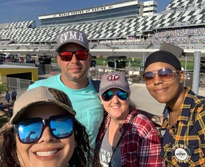 joseph attended 61st Annual Monster Energy NASCAR Cup Series Daytona 500 With Fanzone Access! - * See Notes on Feb 17th 2019 via VetTix