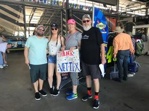 Charles attended 61st Annual Monster Energy NASCAR Cup Series Daytona 500 With Fanzone Access! - * See Notes on Feb 17th 2019 via VetTix
