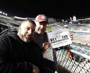 1SG Lewis Ret US ARMY attended 61st Annual Monster Energy NASCAR Cup Series Daytona 500 With Fanzone Access! - * See Notes on Feb 17th 2019 via VetTix