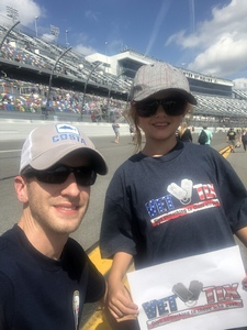 Joe attended 61st Annual Monster Energy NASCAR Cup Series Daytona 500 With Fanzone Access! - * See Notes on Feb 17th 2019 via VetTix