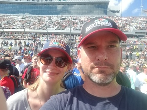 Jesse attended 61st Annual Monster Energy NASCAR Cup Series Daytona 500 With Fanzone Access! - * See Notes on Feb 17th 2019 via VetTix