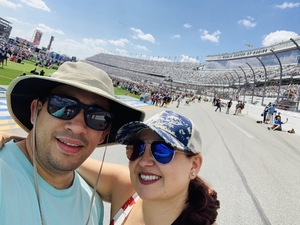 Jorge attended 61st Annual Monster Energy NASCAR Cup Series Daytona 500 With Fanzone Access! - * See Notes on Feb 17th 2019 via VetTix