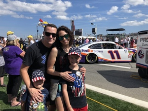 Ty attended 61st Annual Monster Energy NASCAR Cup Series Daytona 500 With Fanzone Access! - * See Notes on Feb 17th 2019 via VetTix