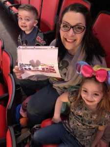 Marc attended Disney on Ice Presents Mickey's Search Party - Ice Shows on Mar 21st 2019 via VetTix