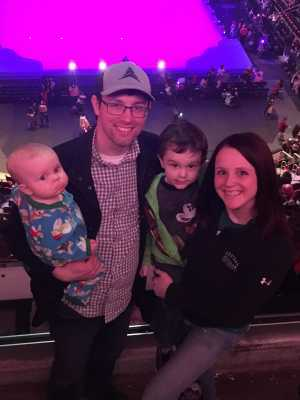 Andrew attended Disney on Ice Presents Mickey's Search Party - Ice Shows on Mar 21st 2019 via VetTix