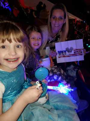 Adrienne attended Disney on Ice Presents Mickey's Search Party - Ice Shows on Mar 21st 2019 via VetTix