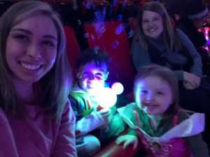 Channin attended Disney on Ice Presents Mickey's Search Party - Ice Shows on Mar 21st 2019 via VetTix