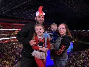 Amanda attended Disney on Ice Presents Mickey's Search Party - Ice Shows on Mar 21st 2019 via VetTix
