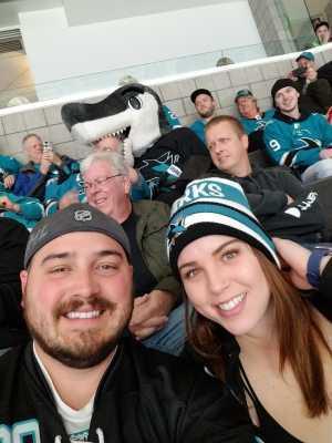 curtis attended San Jose Sharks vs. Montreal Canadiens - NHL on Mar 7th 2019 via VetTix