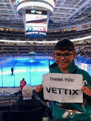 Vince attended San Jose Sharks vs. Montreal Canadiens - NHL on Mar 7th 2019 via VetTix