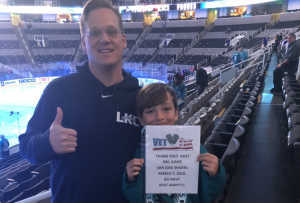 Chad attended San Jose Sharks vs. Montreal Canadiens - NHL on Mar 7th 2019 via VetTix