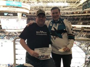 Click To Read More Feedback from San Jose Sharks vs. Washington Capitals - NHL