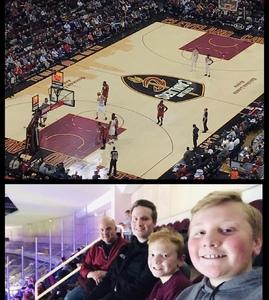 Robert attended Cleveland Cavaliers vs. Miami Heat - NBA - Tonight! on Jan 25th 2019 via VetTix