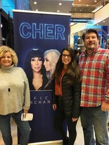 Todd attended Cher: Here We Go Again Tour - Pop on Jan 29th 2019 via VetTix