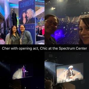 Ken attended Cher: Here We Go Again Tour - Pop on Jan 29th 2019 via VetTix
