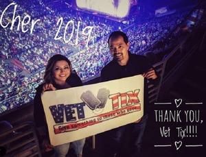 Ryan attended Cher: Here We Go Again Tour - Pop on Jan 29th 2019 via VetTix