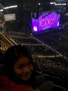 Mark attended Cher: Here We Go Again Tour - Pop on Jan 29th 2019 via VetTix