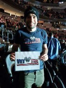 Edwin attended George Strait - Strait to Vegas on Feb 2nd 2019 via VetTix